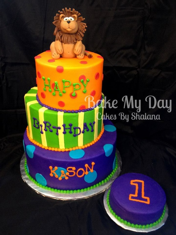 Bake My Day Acadiana - Little Guys Cakes